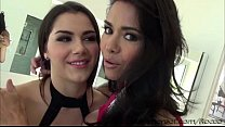 A hardcore outside sex with the girls Dana and Valentina