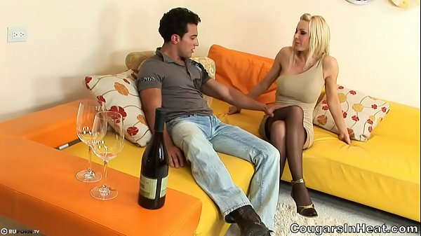 Mature blonde from hot guy