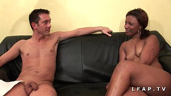 Good french black girl sodomized and double fucked for her casting