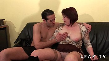 BBW Cougar mom deboitee fisted anal DP facialized for her casting