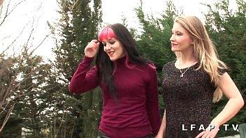 FFM 2 meninas francesas dividem um galo e suas bucetas