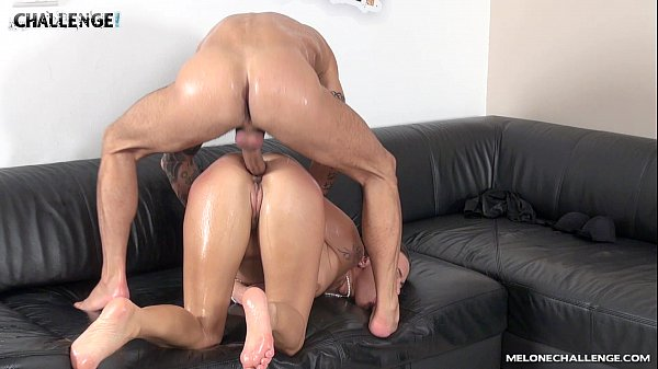 Mike Angelo & Mea Melone the best anal fuck ever with creampie