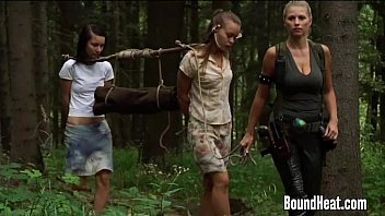 Two y. With A Slave Huntress In New Home