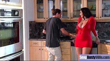 Sexy Busty Wife (Ava Addams) Love Intercorse On Camera movie-05