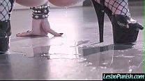 Punish Sex Using Sex Toys Between Lesbo Girls (Katrina Jade & Leigh Raven) video-25