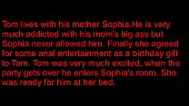 Mom gifts son her ass on his birthday