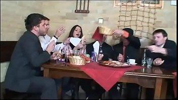 Secretly at the restaurant (Full Porn Movie)