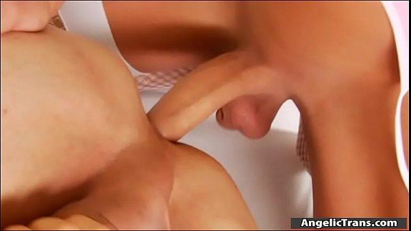 Huge tits tranny Kimberlee ass pounding
