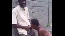 woman giving blowjob