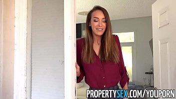 YouPorn - propertysex-handyman-fucks-insanely-hot-real-estate-agent