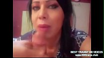 TURKISH TRANNY SUCK DICK AND GET ANAL FUCKED www.500trans.club