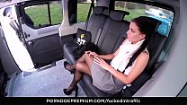 VIP SEX VAULT - Czech babe Eveline Dellai in hot r. sex in the car