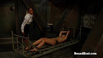 No Escape 2: Teen Watch Her Sister In Harsh Bondage And Punishment