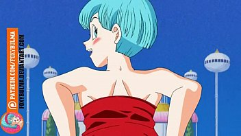 Dragon ball bulma showing pussy and tits