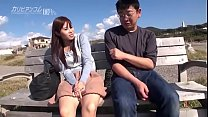 Outdoor raw Saddle date! All-you-can-eat, all-you-can-eat, pussy open! Eri Makino