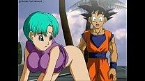 Dragon Ball Z - Goku fucking Bulma/ Goku forem do com a Bulma