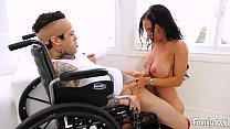 MILF Stepmom Fucks Her Injured Stepson and Has That Magical Healing Touch
