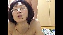 Miyuki writhes with a thick cock
