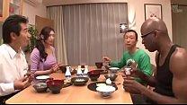 Japanese wife on black-reiko