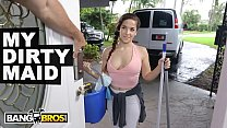 BANGBROS - Jmac Gets Pussy From His Fine Ass Latin Maid Annika Eve