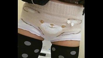Kumasan's fluffy pants