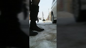 Pissing in the parking lot