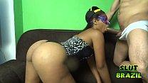 Young black girl from the favela of Rio de Janeiro fucking for money