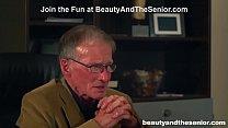 Old Citizen Retires in Hot Blonde