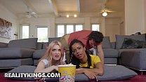 RK Prime - (Kira Noir, Anastasia Knight, Robby Echo) - Dick Flicks And Chill - Reality Kings