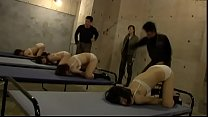 Receiving corporal punishment for solidarity, Reform school in Japan
