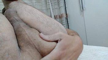 gay sticking finger up his ass