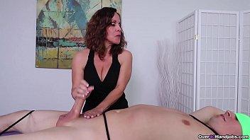 Milf Candi made Him Cum - Milf Massage