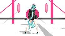 MMD Hatsune Miku Hipnotize Conqueror By [noneferoero]