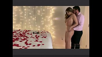 Birthday Sex - My Boyfriend surprised me on my Birthday with Candles and Roses and had Sex with me too - Lexi Aaane