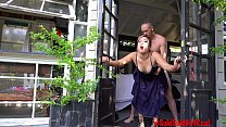Public OUTDOORS Dripping CREAMPIE with IG Model @SukiSukiGirlReal / Andy Savage