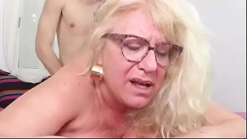 NEW TWINK FOR MRS FINA. The busty GILF comes to FAKings so she can fulfill her fantasies