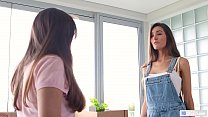 Divorced Babe Confesses That She's Into Girls - Charlotte Star, Amber Leigh