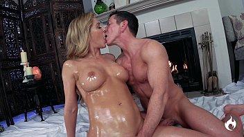 Sensual Suite: Cherie DeVille & Laz Fyre -*FULL VIDEO* Passionate Oiled Sex