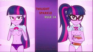 Twilight Sparkle (Equestria Girls) Rule 34 Animated