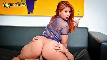 MAMACITAZ - Amateur Teen Latina Jesica Dulce Rides Daddy's Cock On r. Sex