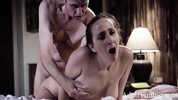 Giving Her Anal Virginity To Her Beloved Stepdad - Ashley Adams