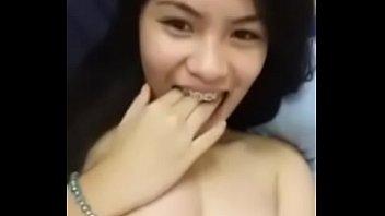 I really like this girl. Big boobs, good licking, beautiful nipples.