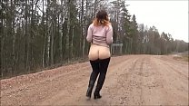 Big ass on the road