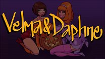 Velma and Daphne Suck A Big Fat Black Dick!