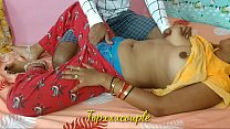 Indian newly married couple first-time fuck with creampie.