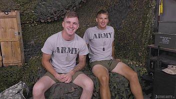 Military Jocks Ryan Jordan & Brandon Anderson Full Scene - ActiveDuty