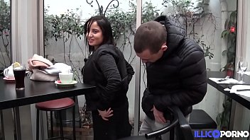 Sabrina, young beurette gets fucked after work