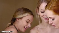 WebYoung Naomi Swann Gets Caught Doing A Steamy Threesome In The Closet