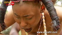 Ebony Outdoors - Innocent Teen Takes Dick in Public (Trailer)
