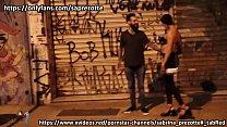 UMA NOITE EM SAO PAULO, Sabrina Prezotte é levada por homem na rua ate seu apartamento onde leva uma surra de pau do barbudo tatuado, participaçao El-Perro. (completo em meus canais) atendimento 11 98534-5598